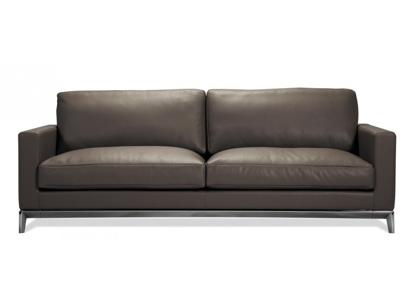 4 seater leather sofa QUAI CONTI - Canapés Duvivier