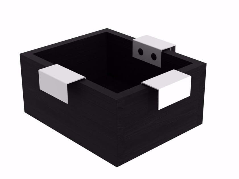 Wooden storage box QUALITIME BLACK | Storage box - Ethnicraft
