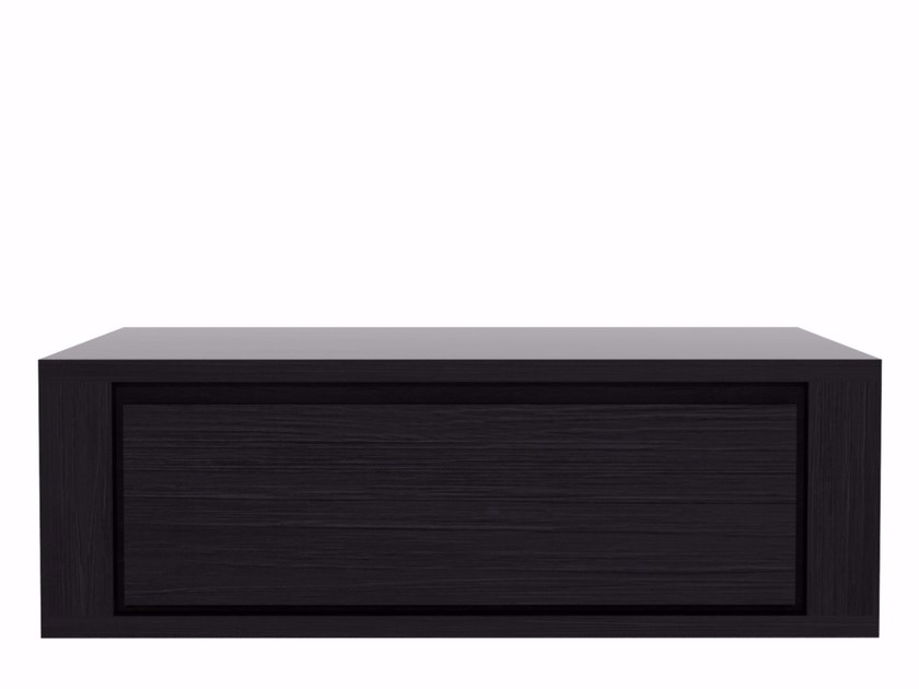 Sectional wall cabinet QUALITIME BLACK | Wall cabinet - Ethnicraft