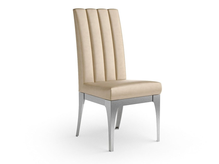 Sedia imbottita con schienale alto QUARTZ | Sedia con schienale alto - Caroti