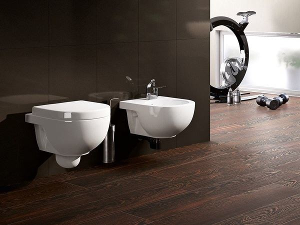 Wall-hung ceramic toilet QUICK | Wall-hung toilet - CERAMICA FLAMINIA