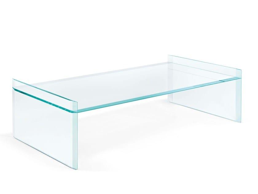 Low rectangular coffee table QUILLER   Rectangular coffee table - T.D. Tonelli Design