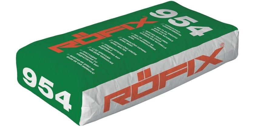 Malta based universal hydraulic lime RÖFIX 954 - RÖFIX