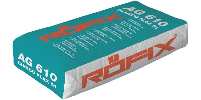 Cement adhesive for flooring RÖFIX AG 610 FLEX Bianco - RÖFIX