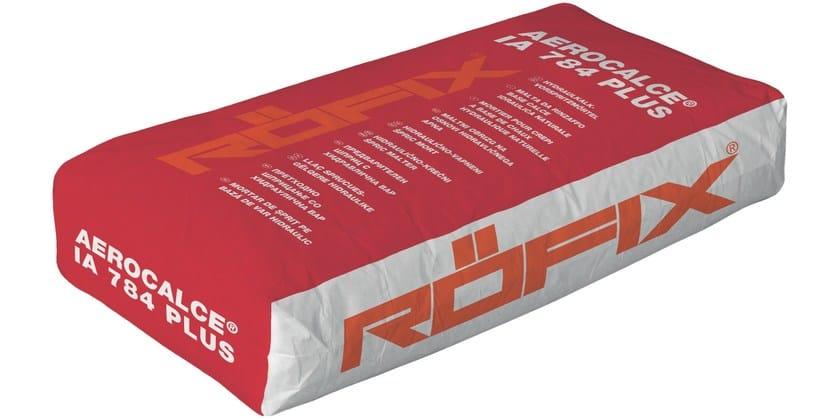 Hydraulic and hydrated lime based plaster RÖFIX AeroCalce® IA 784 PLUS - RÖFIX