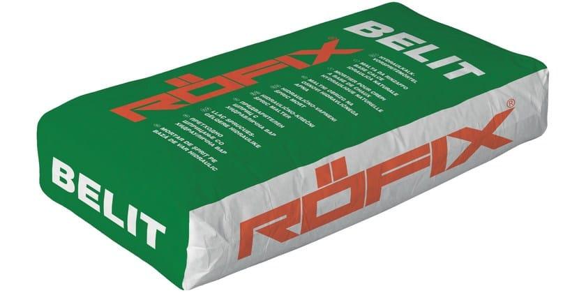 Rapid-setting mortar RÖFIX Belit - RÖFIX