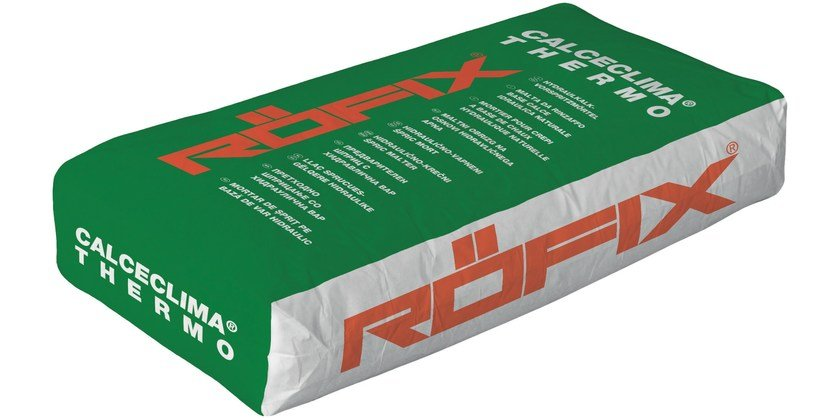 Thermal insulating plaster RÖFIX CalceClima® Thermo - RÖFIX
