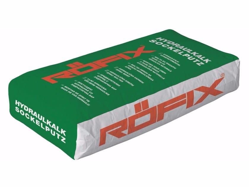 Hydraulic and hydrated lime based plaster RÖFIX HK-Sockelputz - RÖFIX