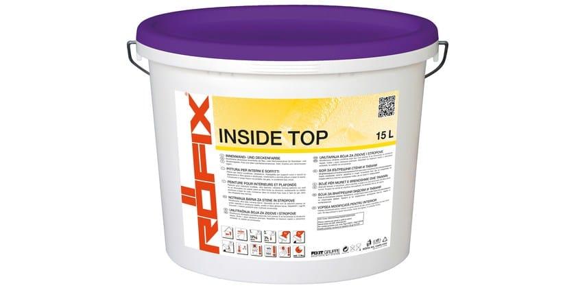Washable water-based paint RÖFIX INSIDE TOP - RÖFIX