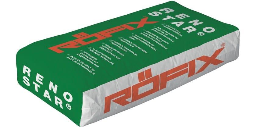Smoothing mineral fiber-reinforced universal RÖFIX Renostar® - RÖFIX