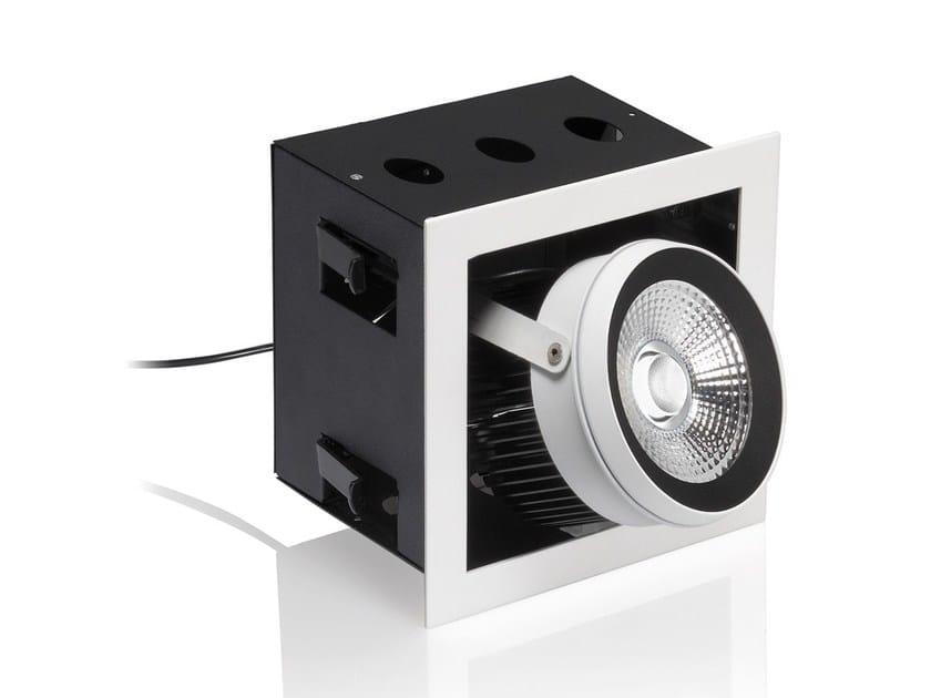 LED adjustable aluminium built-in lamp R28 - NOBILE ITALIA
