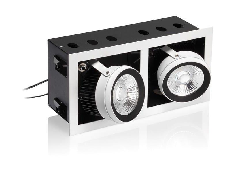 LED adjustable aluminium built-in lamp R29 - NOBILE ITALIA