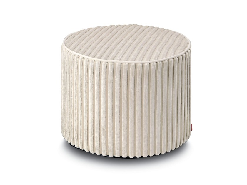 Pouf cilindro in velluto RABAT | Pouf by MissoniHome