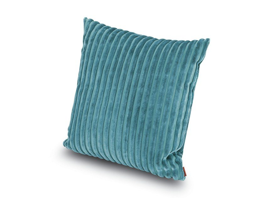 Square velvet cushion RABAT | Square cushion - MissoniHome