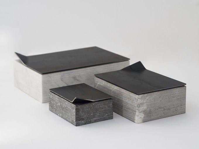 Marble storage box RACCONTI RACCOLTI - gumdesign