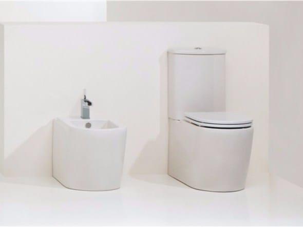Close coupled ceramic toilet RACE | Close coupled toilet - GSG Ceramic Design