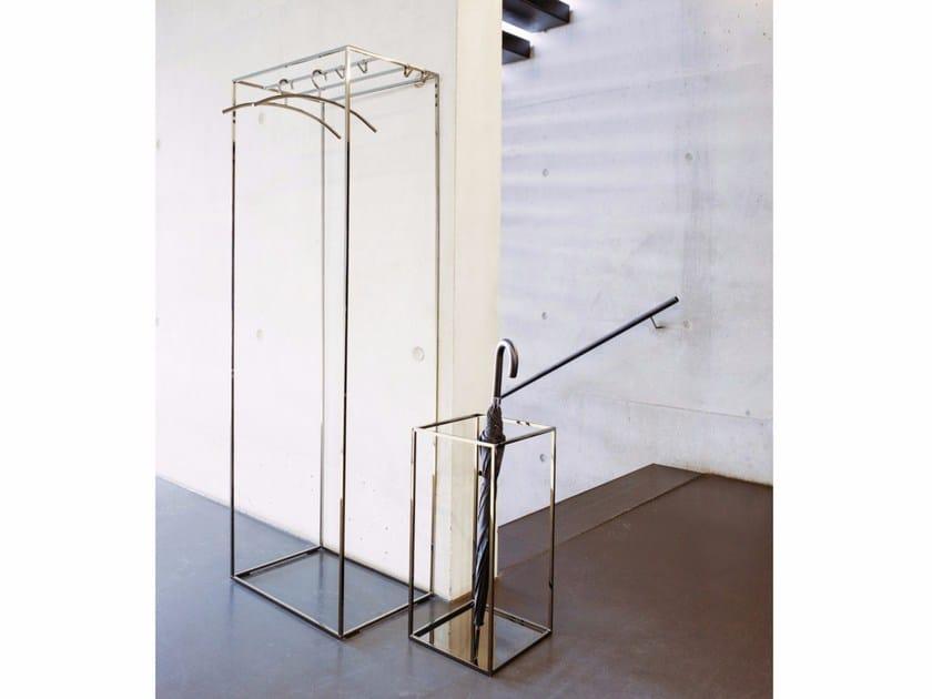 Powder coated steel coat rack RACK | Coat rack - Schönbuch