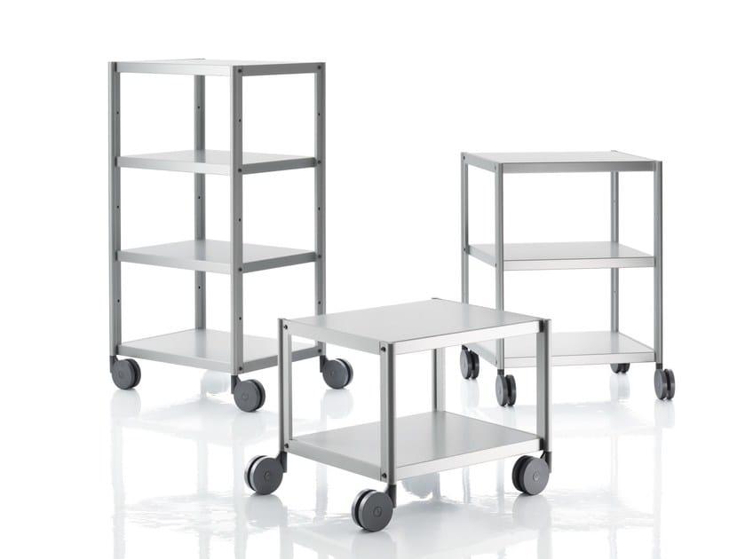 Aluminium trolley RACK - Magis