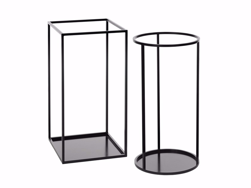 Powder coated steel umbrella stand RACK | Umbrella stand - Schönbuch