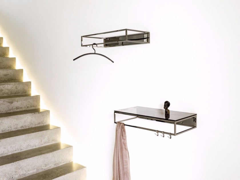 Metal coat rack / wall shelf RACK | Wall-mounted coat rack - Schönbuch