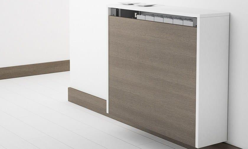 Tavolo a muro a ribalta block tavolo a muro cancio - Tavolo allungabile a ribalta ...