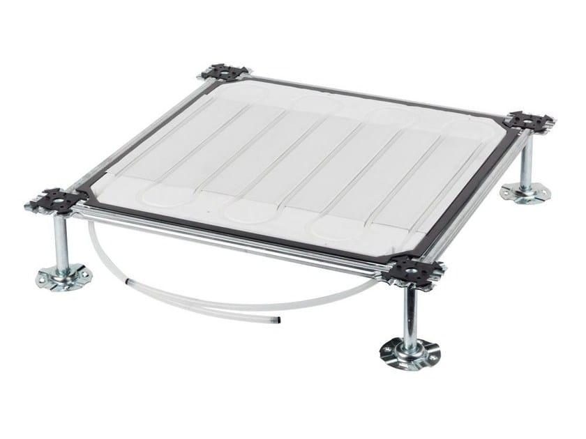 Radiant floor panel RADIAL FLOT - Isolconfort