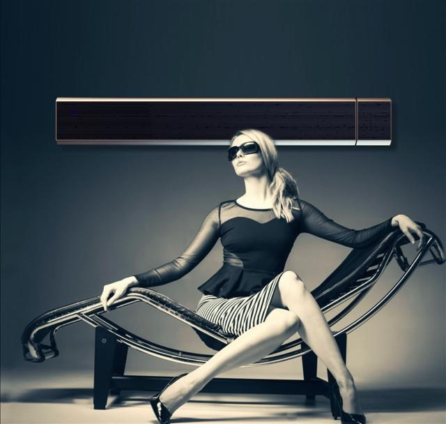 Blacklight Radiant Heater Infralia