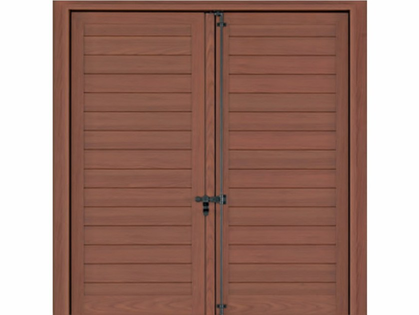 Aluminium panel shutter RAFFAELLO - FOSSATI PVC