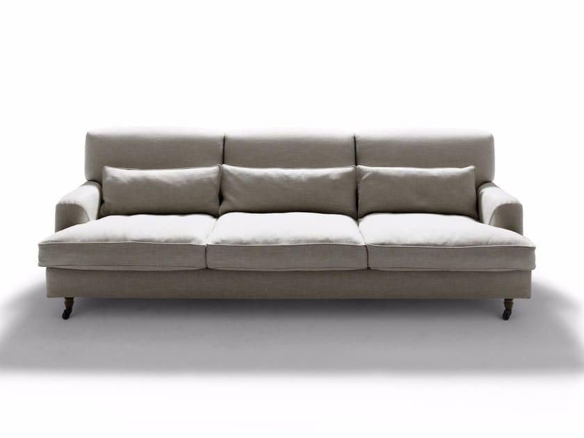 Fabric sofa with removable cover RAFFLES - DE PADOVA