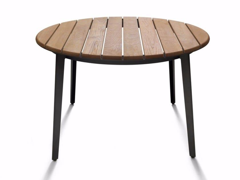 Teak garden table RAILWAY OUTDOOR - DE PADOVA
