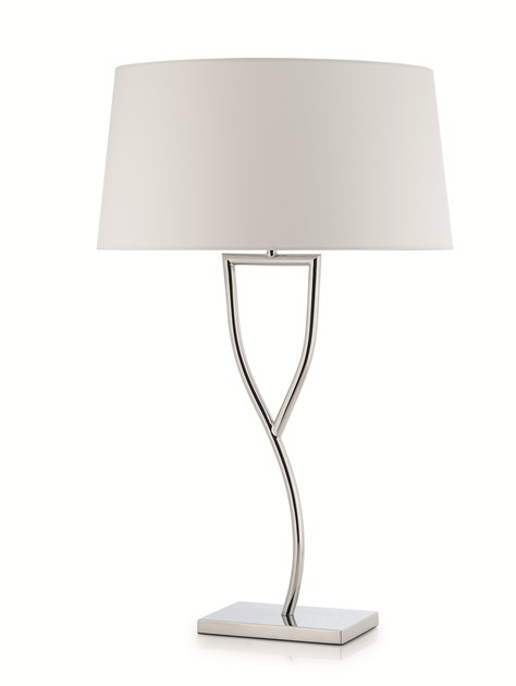 Contemporary style metal table lamp RAMA by ENVY