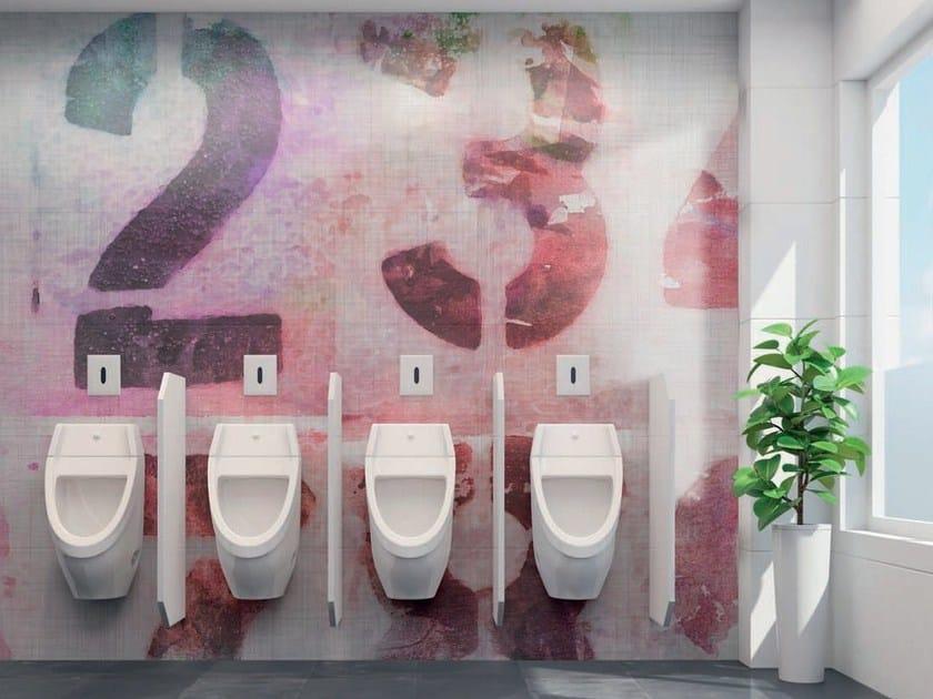 carta da parati adesiva lavabile per bagno random numbers ... - Carta Da Parati Adesiva Per Bagno