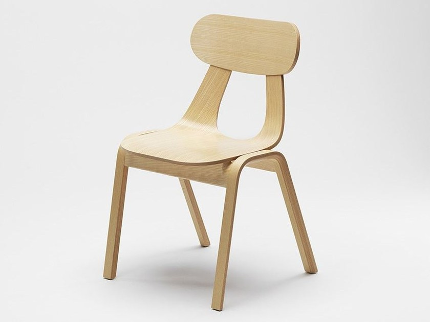 Stackable chair RAPA W - Zilio Aldo & C.