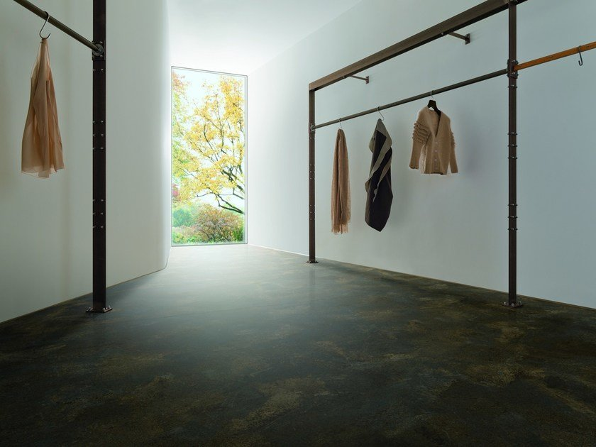 Ecological continuous flooring RAW DIAMOND - Vorwerk & Co. Teppichwerke
