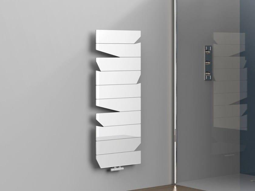Wall-mounted aluminium towel warmer RAY - K8 Radiatori