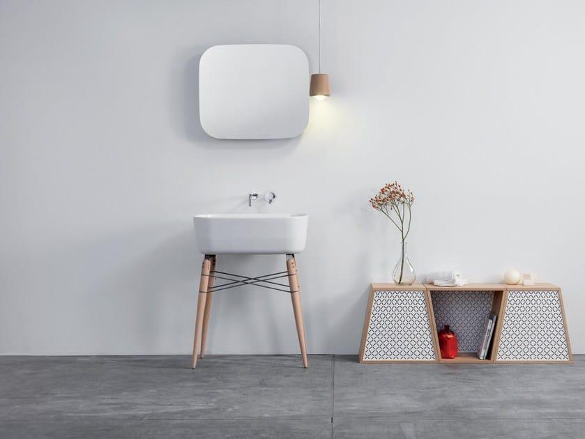 Bathroom mirror with cabinet RAY MIRROR - Ex.t