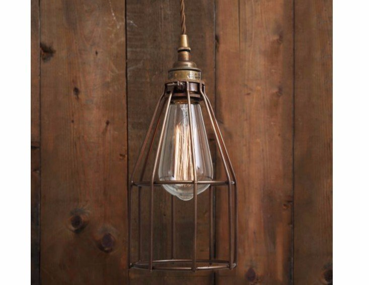 Direct light handmade pendant lamp RAZE CAGE PENDANT LIGHT - Mullan Lighting