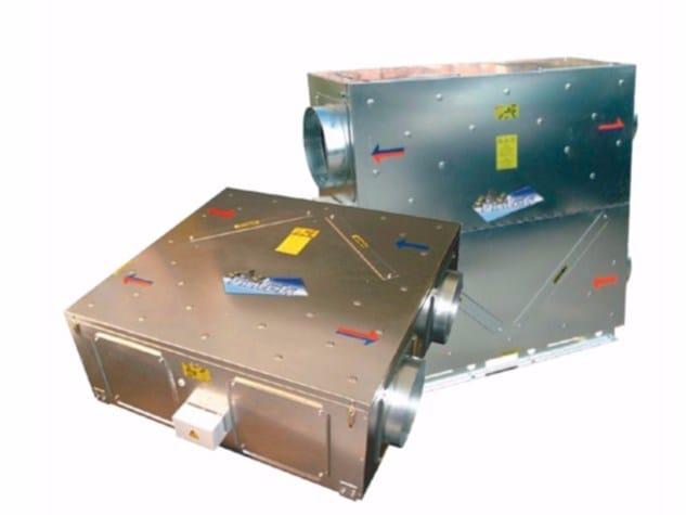 Heat recovery unit RCA-DC / RCA-V-DC - Fintek