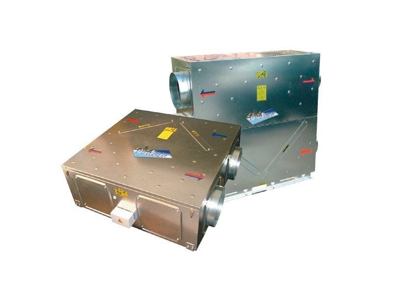 Heat recovery unit RCA / RCA-V by Fintek