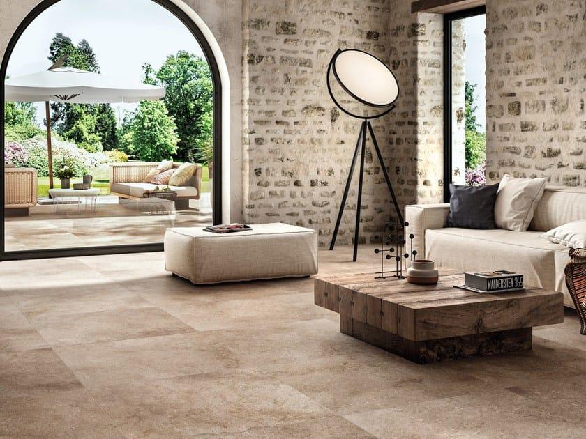 Pavimento/rivestimento in gres porcellanato per interni ed esterni REALSTONE JERUSALEM - Ragno