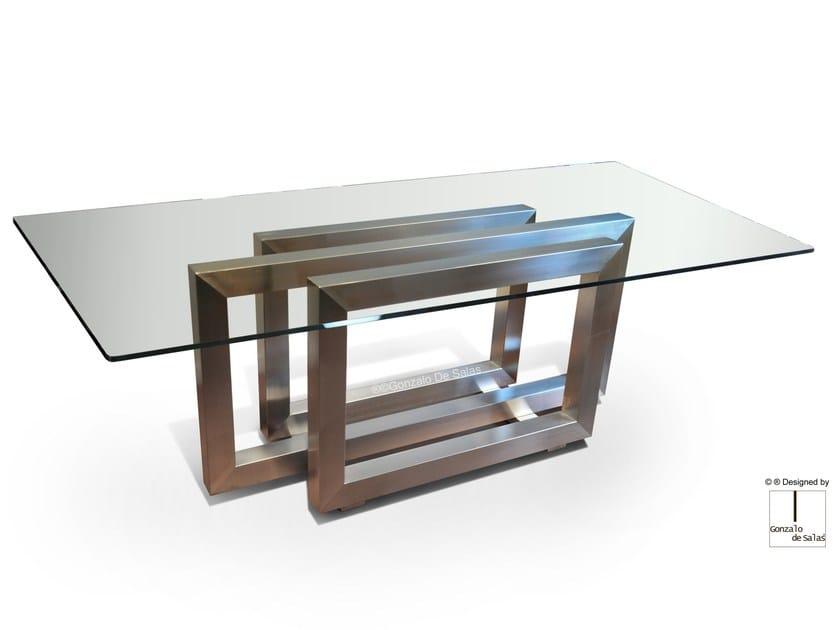 Rectangular dining table REBECCA by Gonzalo De Salas