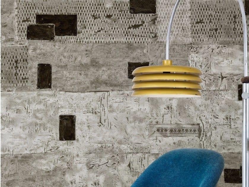 Wall effect wallpaper REBUS - Wall&decò