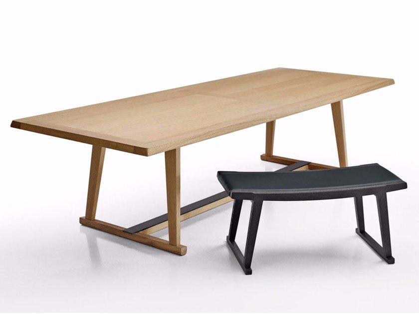 Rectangular oak table RECIPIO '14 | Table - Maxalto, a brand of B&B Italia Spa