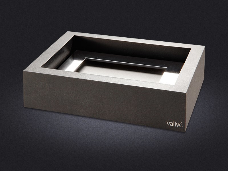 Resin soap dish RECTANGLE - Vallvé Bathroom Boutique