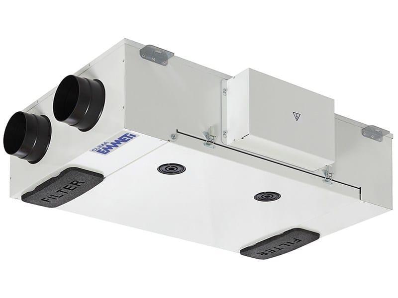 Mechanical forced ventilation system RECUPERA SLIM | Mechanical forced ventilation system - EMMETI