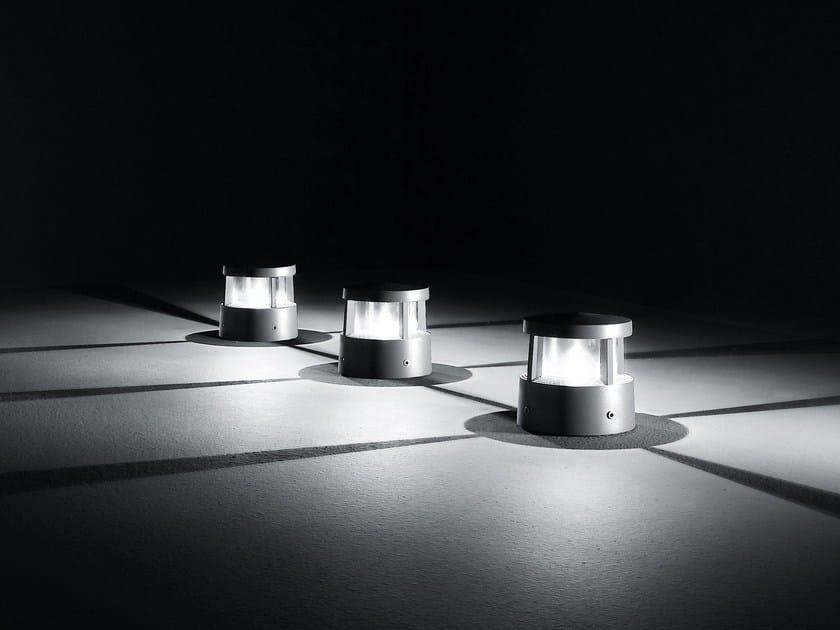 LED die cast aluminium Floor lamp REEF by SIMES
