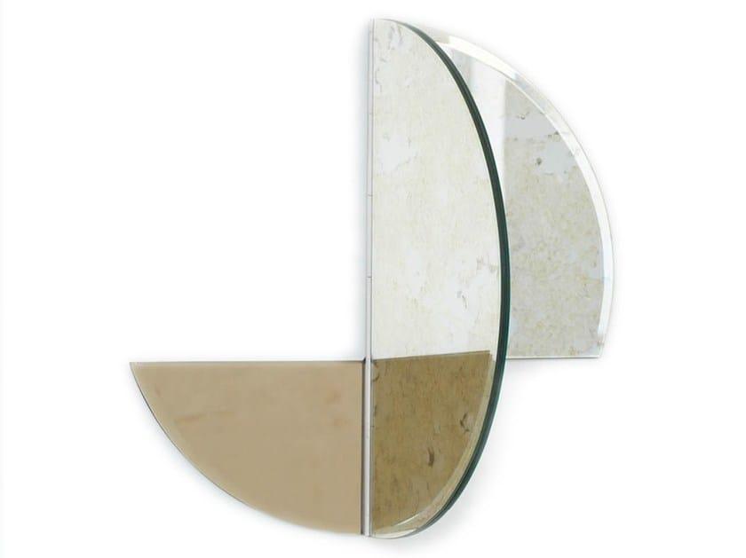 Specchio oscillante a parete REFLECTING - Kristina Dam Studio
