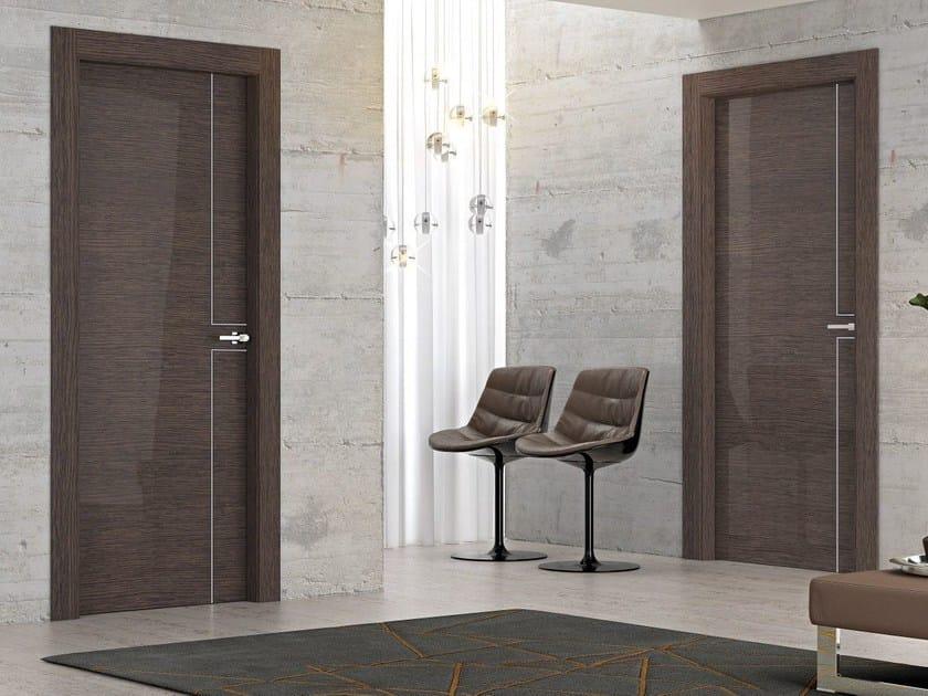 Hinged wooden door REFLEX - Pail Serramenti