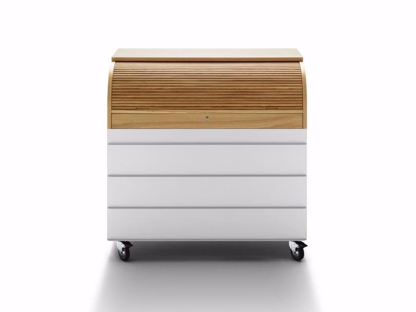 Secretary desk with 4 drawers REFLEX SECRÉTAIRE - DE PADOVA