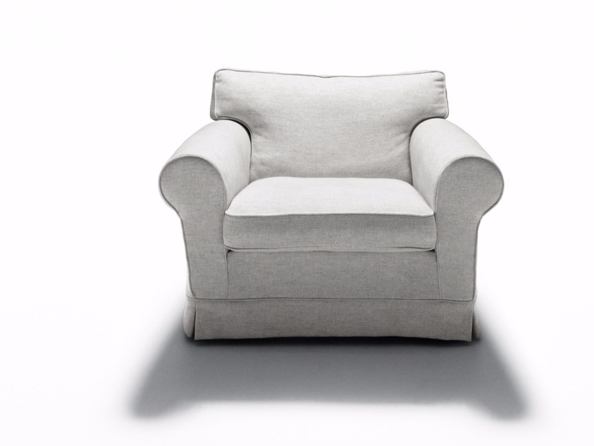 Fabric armchair with removable cover REGENT'S '16 | Armchair - DE PADOVA